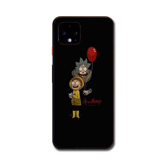 It Rick And Morty Google Pixel 4 XL Case | Frostedcase