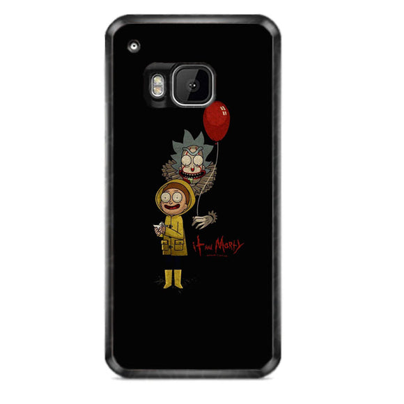 It Rick And Morty HTC One M9 Case | Frostedcase