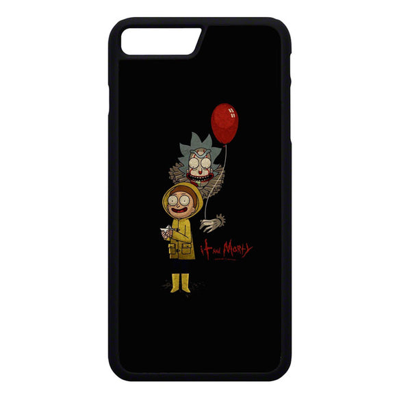 It Rick And Morty iPhone 7 Plus Case | Frostedcase