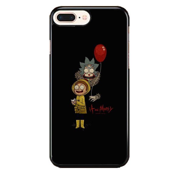 It Rick And Morty iPhone 8 Plus Case | Frostedcase