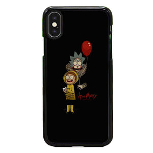watch 97726 c0552 It Rick And Morty iPhone X Case | Frostedcase
