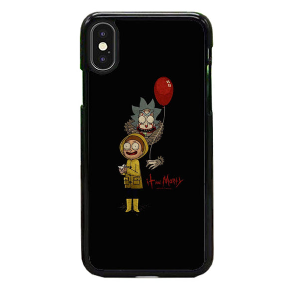 It Rick And Morty iPhone XS Max Case | Frostedcase
