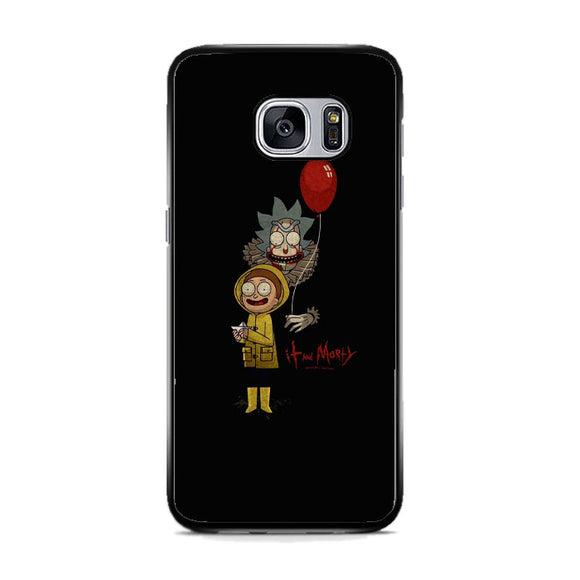 It Rick And Morty Samsung Galaxy S7 Case | Frostedcase