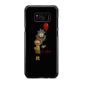 newest 93b99 85135 It Rick And Morty Samsung Galaxy S8 Plus Case | Frostedcase