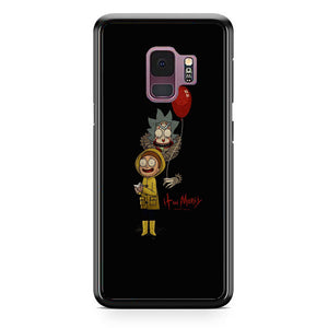 It Rick And Morty Samsung Galaxy S9 Case | Frostedcase