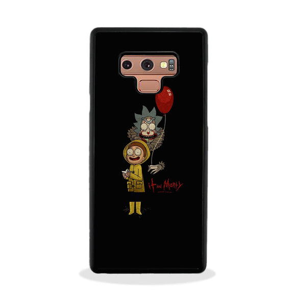 It Rick And Morty Samsung Galaxy Note 9 Case | Frostedcase