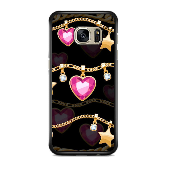 Jewelry Heart Samsung Galaxy S7 EDGE Case | Frostedcase