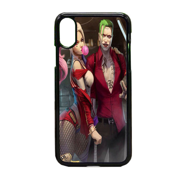 Joker And Harley Quinn iPhone X Case | Frostedcase