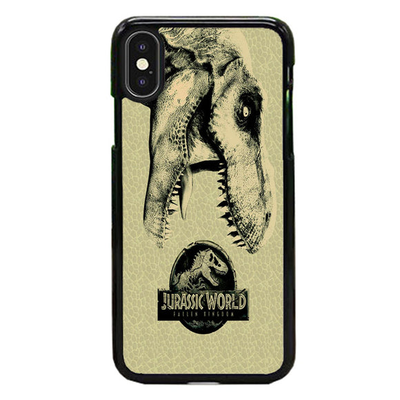 Jurassic World Fallen Kingdom Dinosaur Survival Guide iPhone XS Max Case | Frostedcase
