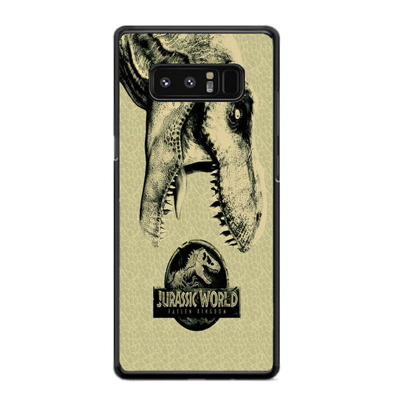 Jurassic World Fallen Kingdom Dinosaur Survival Guide Samsung Galaxy Note 8 Case | Frostedcase