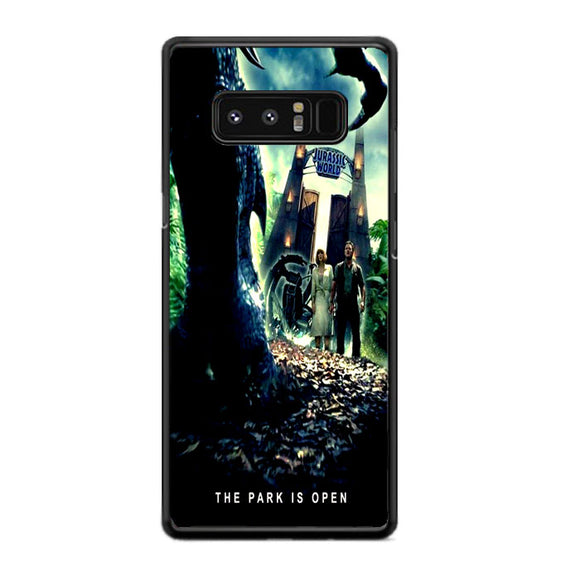 Jurassic World The Park Is Open Samsung Galaxy Note 8 Case | Frostedcase