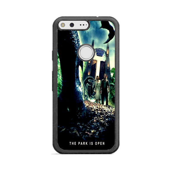 Jurassic World The Park Is Open Google Pixel XL Case | Frostedcase