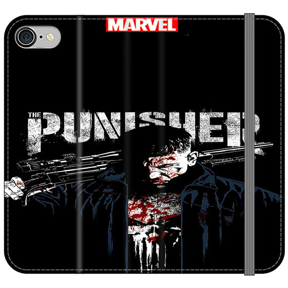 Justiceiro 2 Temporada Poster iPhone 7 Flip Case | Frostedcase