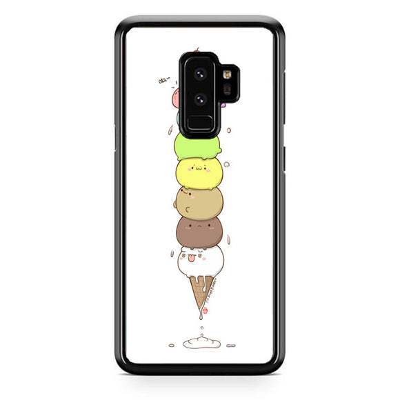 Kawaii Cat Ice Cream Samsung Galaxy S9 Plus Case | Frostedcase