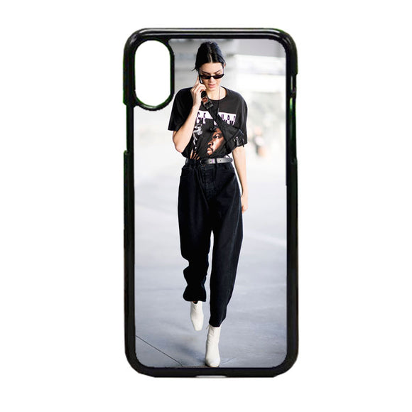 Kendall Jenners Chic Street Style iPhone X Case | Frostedcase