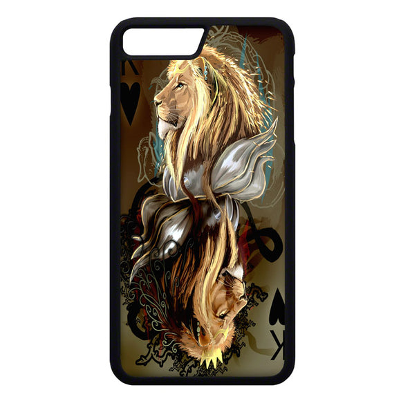 King Of Hearts Card iPhone 7 Plus Case | Frostedcase