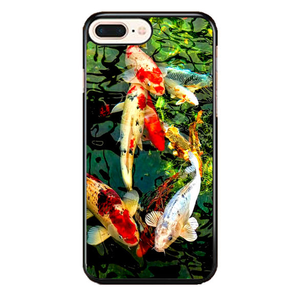 Koi Fish Pond Draw iPhone 8 Plus Case | Frostedcase