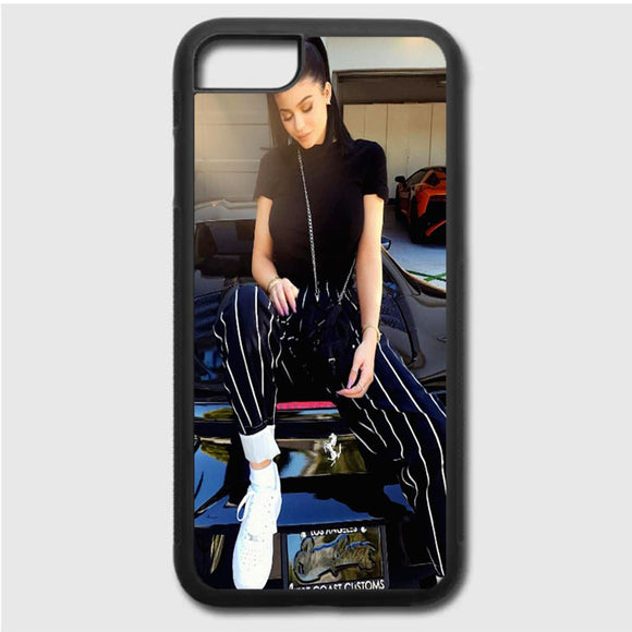 Kylie Jenner Two Ponytails iPhone 7 Case | Frostedcase