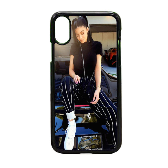 Kylie Jenner Two Ponytails iPhone X Case | Frostedcase