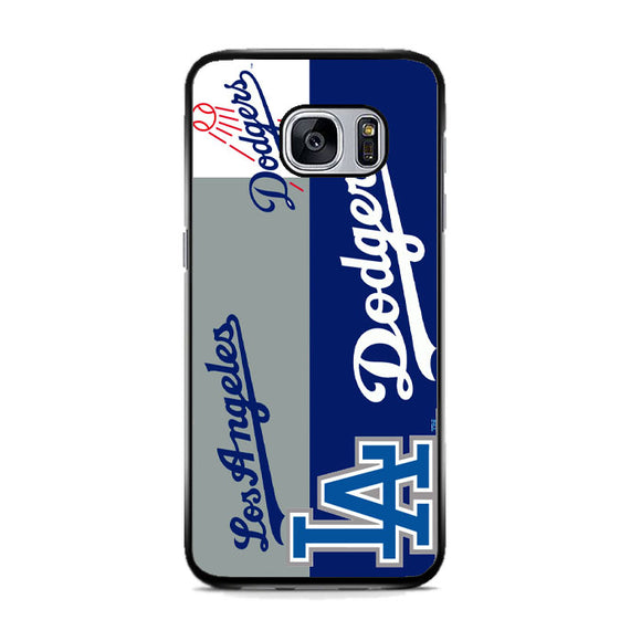La Dodgers Logo Samsung Galaxy S7 Case | Frostedcase