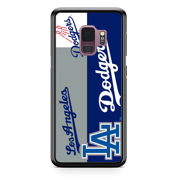 La Dodgers Logo Samsung Galaxy S9 Case | Frostedcase