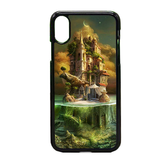 Landscapes Fantasy iPhone X Case | Frostedcase