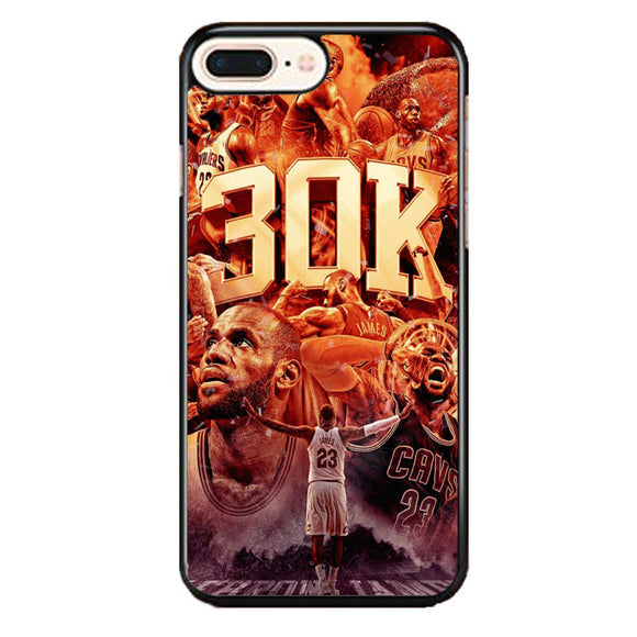 Lebron James iPhone 8 Plus Case | Frostedcase