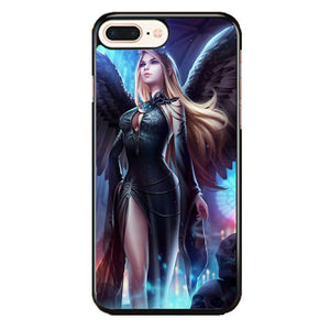 Legend Of Cryptids Female iPhone 8 Plus Case | Frostedcase