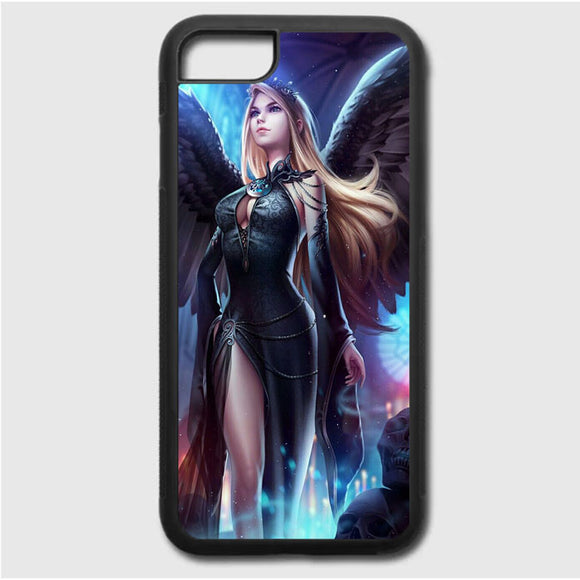 Legend Of Cryptids Female iPhone 7 Case | Frostedcase