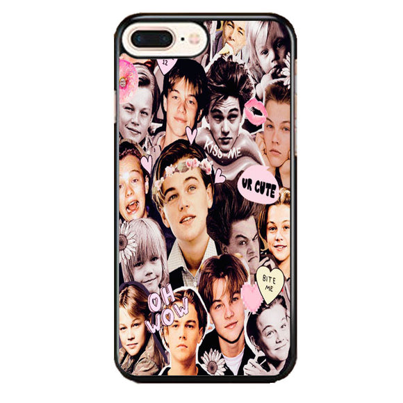 Leonardo Dicaprio Collage iPhone 8 Plus Case | Frostedcase