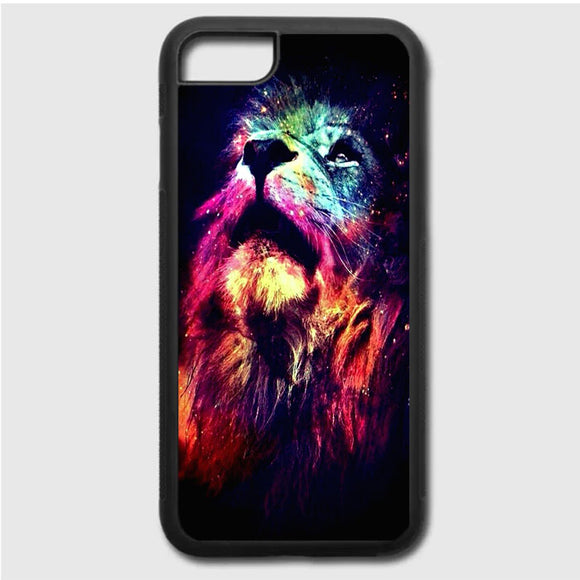 Lion Galaxy Art iPhone 7 Case | Frostedcase