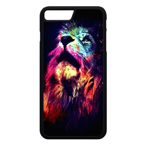 Lion Galaxy Art iPhone 7 Plus Case | Frostedcase