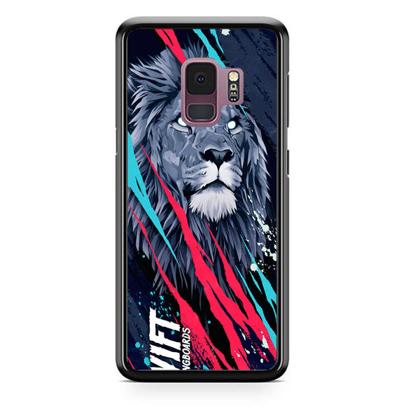 Lion Vift Art Samsung Galaxy S9 Case | Frostedcase
