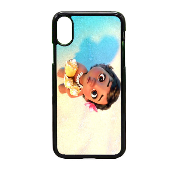 Littel Moana iPhone X Case | Frostedcase