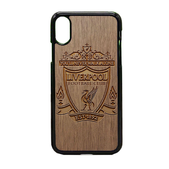 Liverpool Grafir Wooden iPhone XS Max Case | Frostedcase