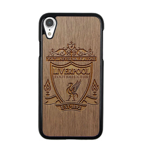 Liverpool Grafir Wooden iPhone XR Case | Frostedcase