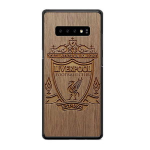 Liverpool Grafir Wooden Samsung Galaxy S10 Plus Case | Frostedcase