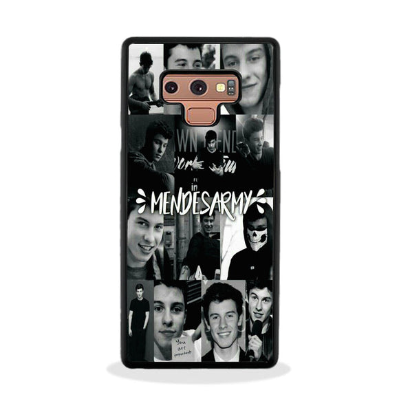 Lockscreens De Shawn Mendes Samsung Galaxy Note 9 Case | Frostedcase