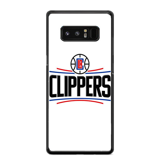 Los Angeles Clippers New Logo Samsung Galaxy Note 8 Case | Frostedcase