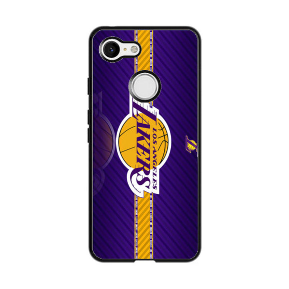 Los Ageles Lakers Google Pixel 3 Case | Frostedcase