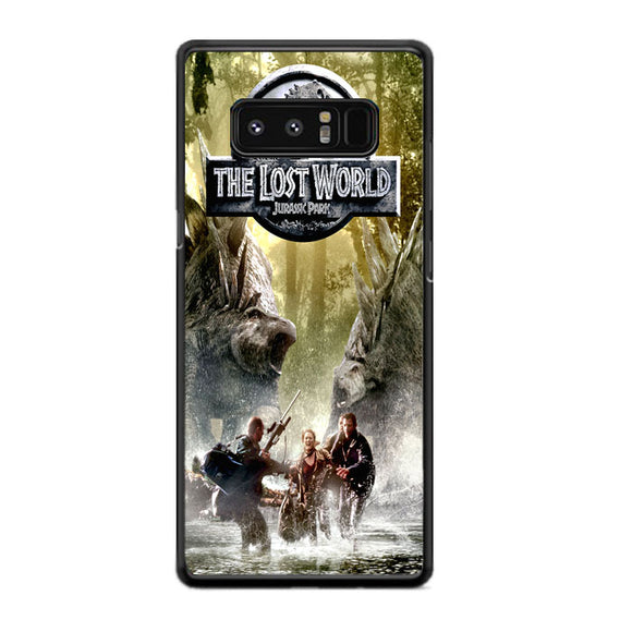Lost World Jurassic Park Poster Samsung Galaxy Note 8 Case | Frostedcase