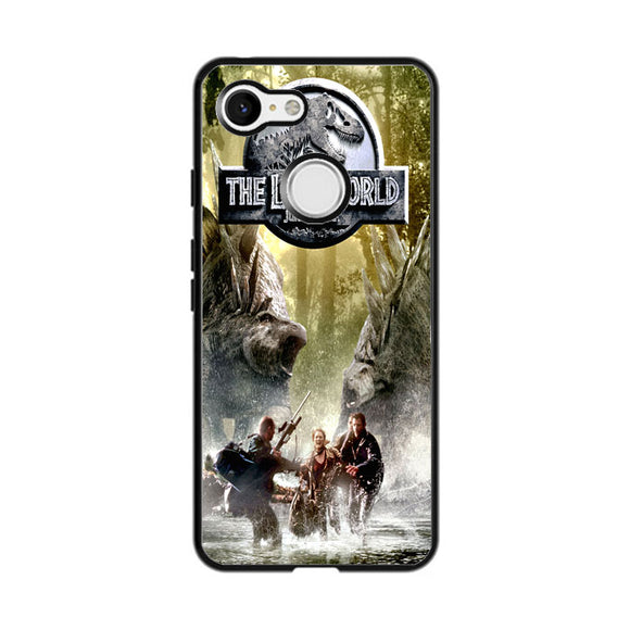 Lost World Jurassic Park Poster Google Pixel 3 Case | Frostedcase