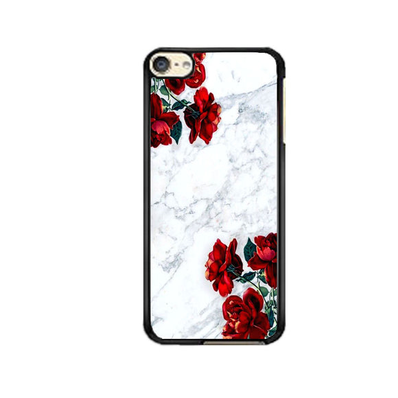 Marble With Roses iPod 6 Case | Frostedcase