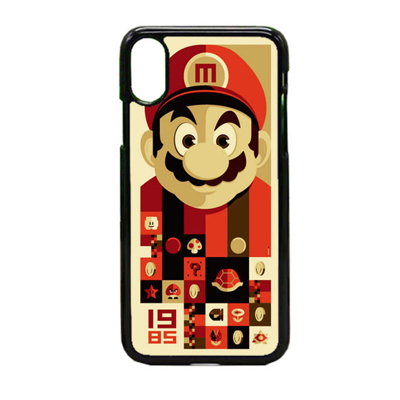 Mario Bros Vector iPhone XS Case | Frostedcase