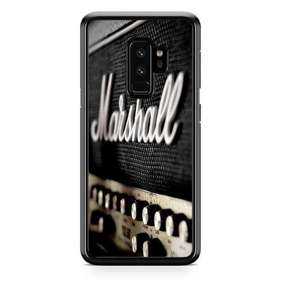 Marshall Logo Samsung Galaxy S9 Plus Case | Frostedcase
