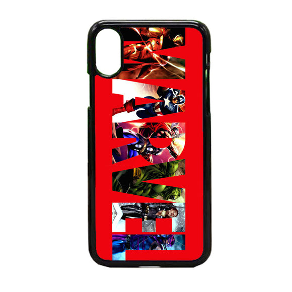 Marvel iPhone X Case | Frostedcase