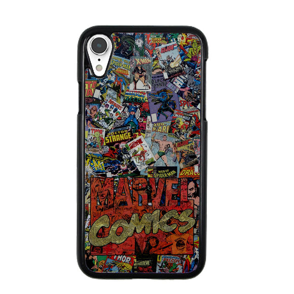 Marvel Comics Super Herro iPhone XR Case | Frostedcase
