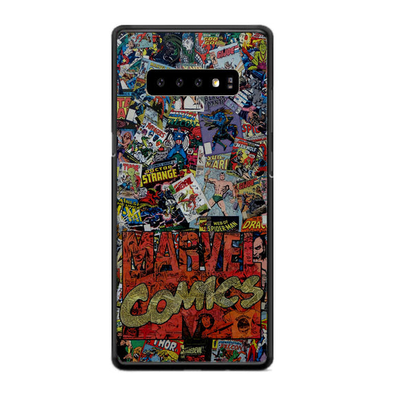 Marvel Comics Super Herro Samsung Galaxy S10 Case | Frostedcase
