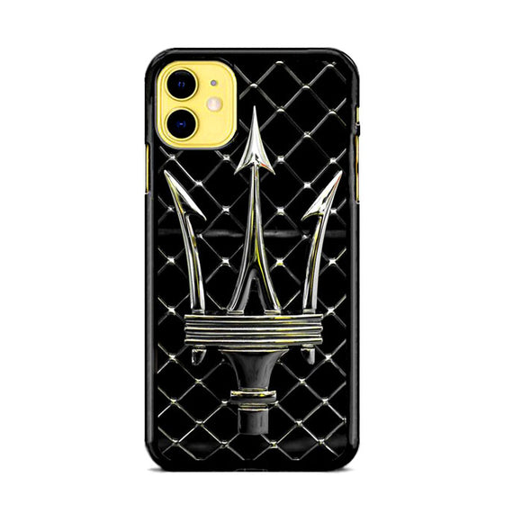 Maserati Trident Emblem iPhone 11 Case | Frostedcase