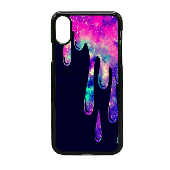 Melting Galaxy iPhone X Case | Frostedcase